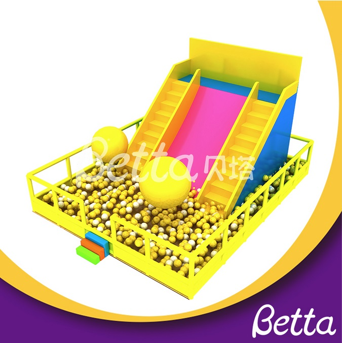 Bettaplay Shopping mall Indoor playground equipment with slide for toddlers large commercial ball pit
