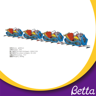 Bettaplay Kids Used Amusement Electric Ride on Train Amusements Rides Electric Train for Sale
