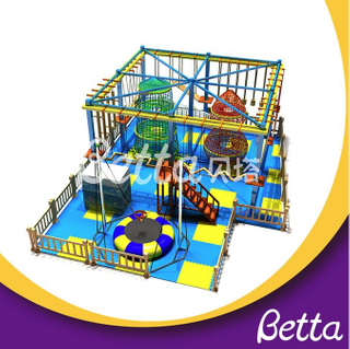 Bettaplay Various color trampoline rope course equipment