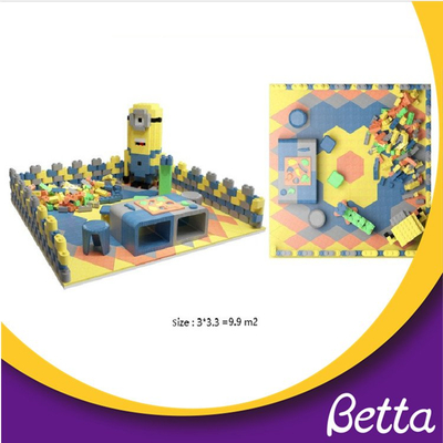 Assembled soft Epp foam building blocks multifunctional educational kids toy