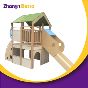 Attractive Cheap Indoor Wood Kids Wooden Playhouse