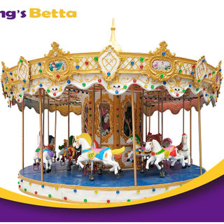 Hot Sales Merry Go Round Kids Playground Equipment For Amusement