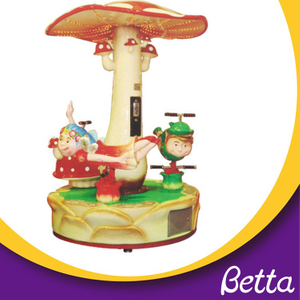 Bettaplay Coin Operated Small Merry Go Round
