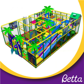 Comfortable and commercial indoor playground equipment