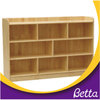 Color Melamine double faced particle board kindergarten bookshelf