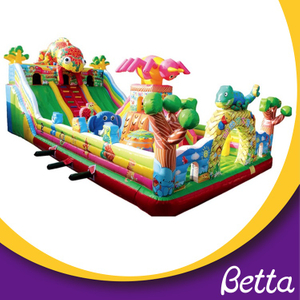 Bettaplay Custom design style cartoon jumping castle inflatable bouncer for kids
