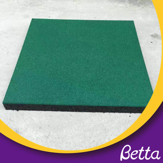 Bettaplay Anti slip wear resistance rubber playground tiles