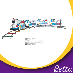 Bettaplay Hot Fun Amusement Park Electric Train Rides Train for Sale