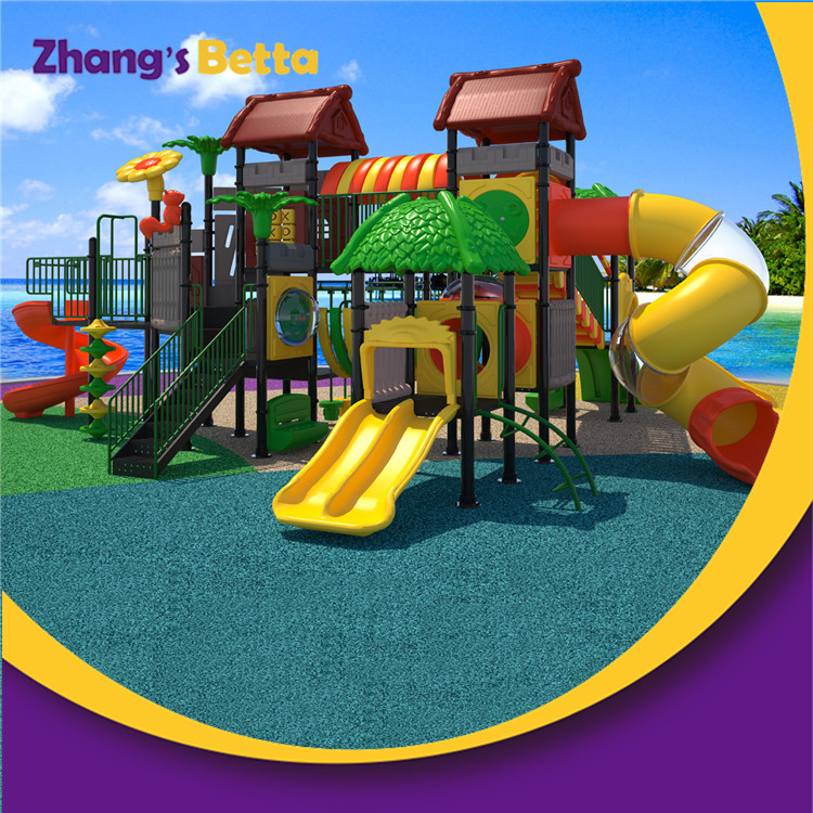 Most Popular Outdoor Amusement Park Children Outdoor Plastic Slide for Sell