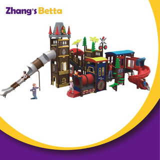 New Design Safety Large Children Commercial Playground Equipment