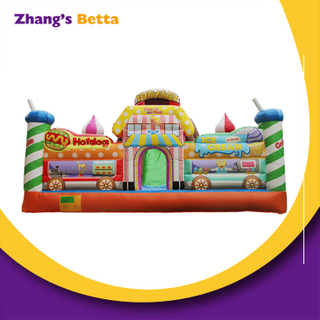 Children's Bouncy Castle Outdoor Large Trampoline Playground