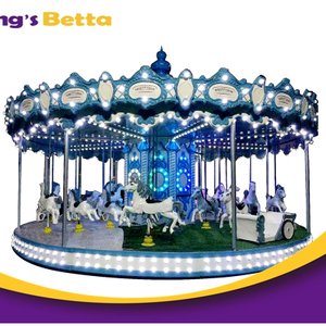 Customized Merry Go Round Kids Playground Equipment For Amusement