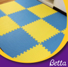 Interlocking indoor playground printing EVA foam tile play puzzle floor mat