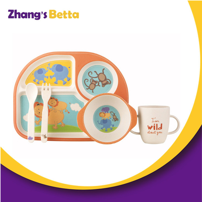 Bamboo Dinner Set Kids