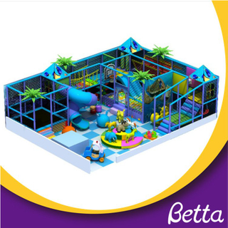 Colorful kids indoor playground for party and play equipment
