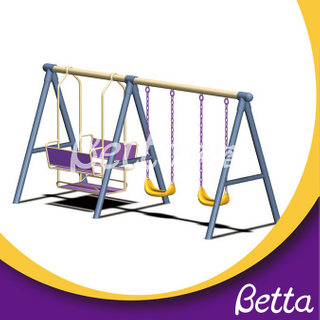 Bettaplay Professional made durable garden double swing for kids