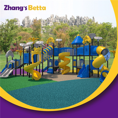 Outdoor Playground with Big Slide
