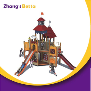 China Supplies cheap outdoor playhouses,big kid playschool outdoor playhouses