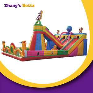 Kids Outdoor Inflatable Bounce Castle