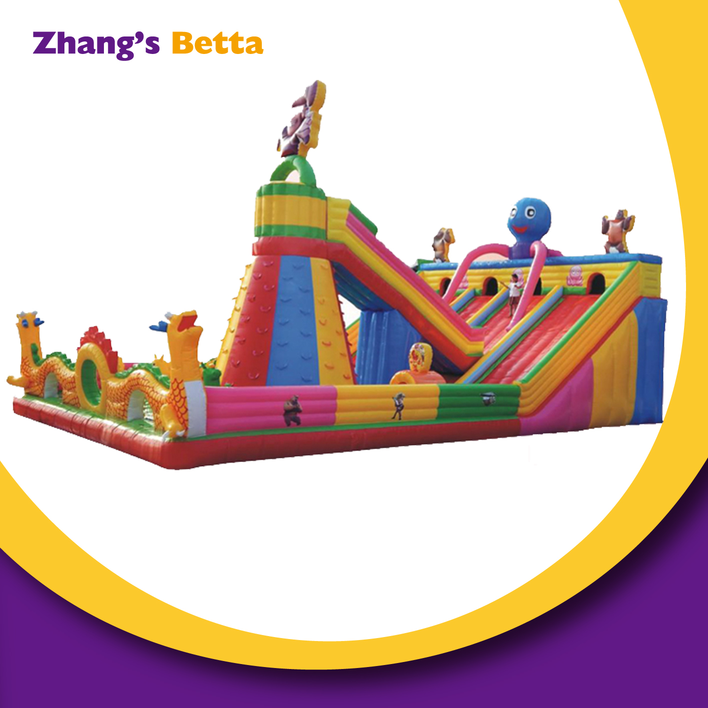 Outdoor Jumping Bouncy Castle