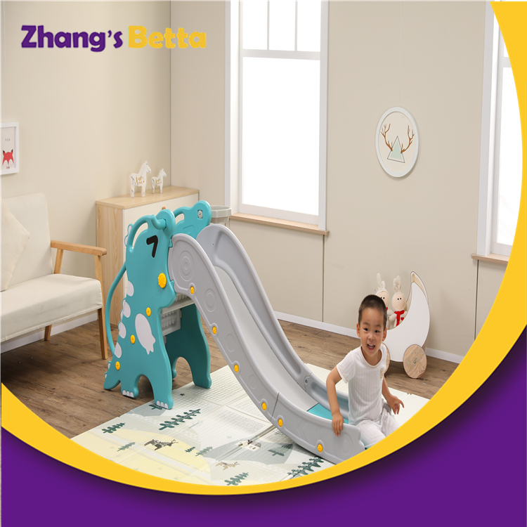 Own Use Cute Modest Plastic Children Slide Stay New Design Style Outdoor Playground Equipment