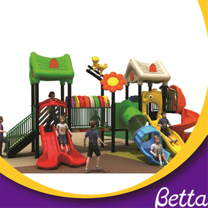 Outdoor For Kids Plastic Slides Cheap Playground