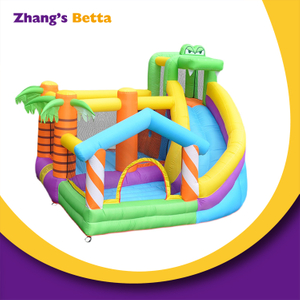 Industrial Home Backyard Custom Jumper Bouncy with Water Slide