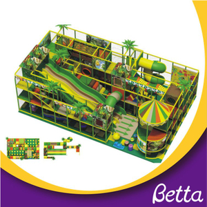 Funny school indoor playground play set for kindergarten