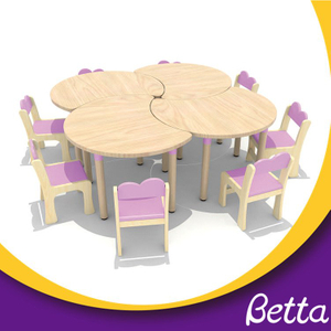 Low Price Children Wooden Chair Lovely Kids Table And Chair Set