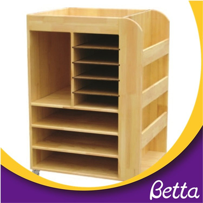 Classroom Furniture Wooden Modern Bookshelf And Cabinet