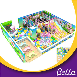 High quality kids indoor entertainment playground for joy