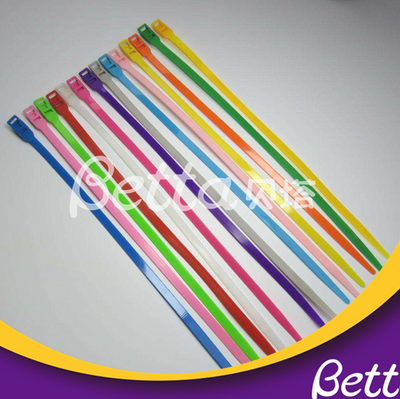 Bettaplay High Strength Colorful Cable Ties for Playground