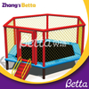 Customized Themed Kids Indoor Playgrpound with High Jump Trampoline