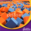 Bettaplay foam cube cover and foam cube for foam pit in outdoor playground
