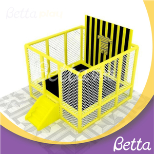 Bettaplay Indoor Playground Spider Wall suit for kids trampoline park