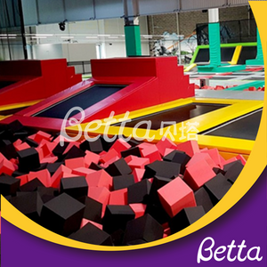 bettaplay foam pit cube foam pit cover for kids indoor playground outdoor playground