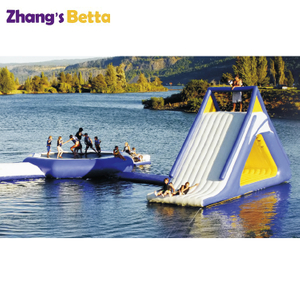 Outdoor Playground Swimming Pool Bounce Round Pool Water Slide