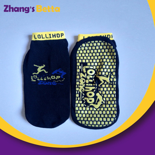 Wholesale Low Moq Custom Anti-slip Jump Kids Trampoline Socks