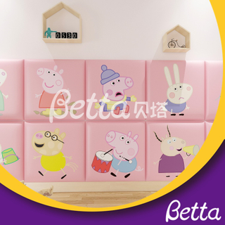 Safety Cute Soft Wall Bumper Animals Wall for Kids Room Indoor Playground