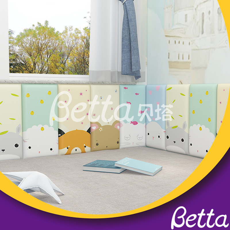 Cute Soft Wall Customized Safety Wall for Kids Room Indoor Playground