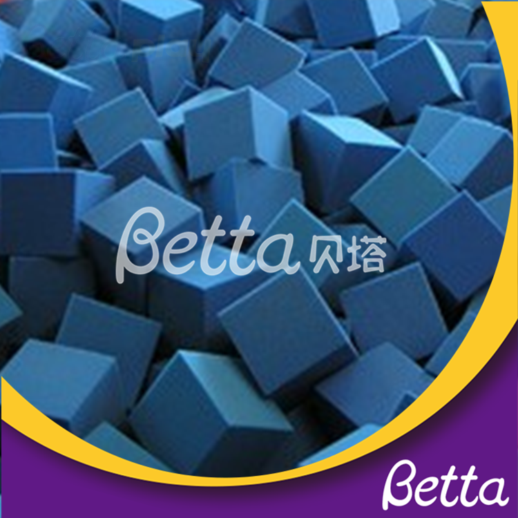 bettaplay foam pit cube for playground gym