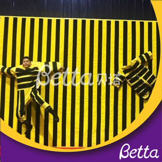 Bettaplay Indoor Playground Trampoline Accessories Indoor Inflatable Spider Jump Wall
