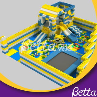 Bettaplay Hot Sale Epp Foam Block Building DIY Customized Educational Toy for Kids Indoor Playground