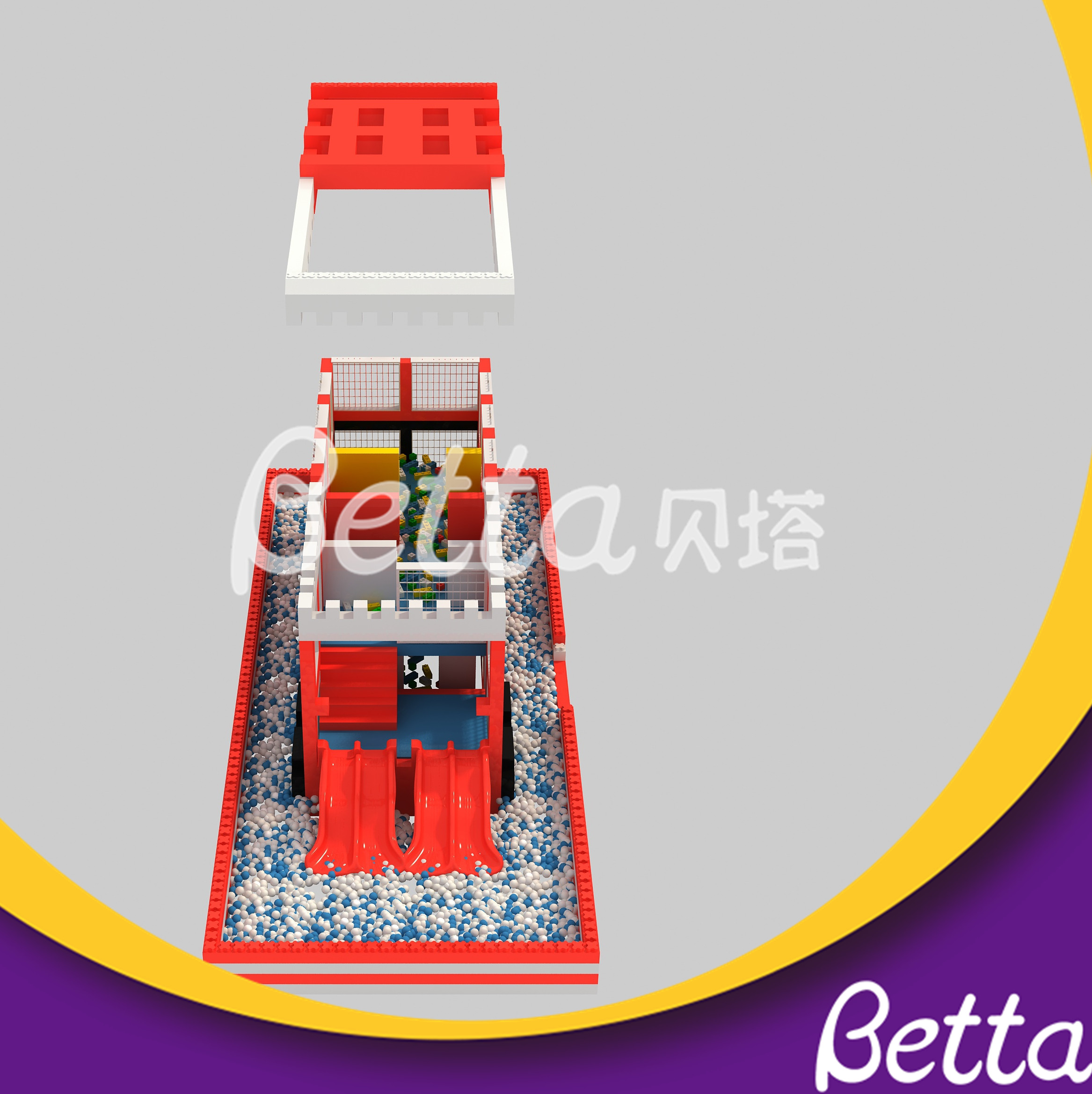 Hot Sale Epp Foam Block Building Block DIY Toy for Kids Indoor Playground