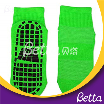 Wholesale Kids Breathable Trampoline Sock With Rubber Grip