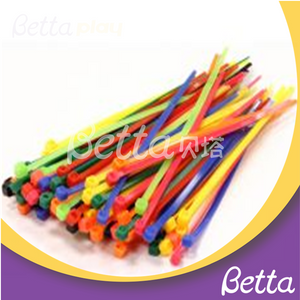 Bettaplay self-locking cable ties for kids indoor playground self-locking cable ties