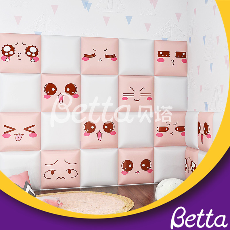 Safety Soft Wall Play For Kids Customized for Indoor Playground Kindergarten