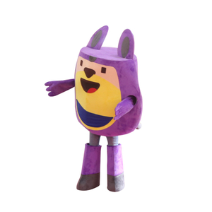 Pokiddo Indoor Playground Character Cartoon Mascot Costume