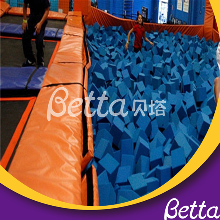 High Density High Resilience PU Foam Pit Cover Sponge Colorful Trampoline Park Promotional Gymnastic Foam Pit Covers