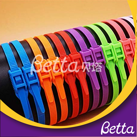 Indoor Playground Accessories Soft Protective Foam Nylon Cable Tie